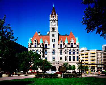 Landmark Center, Former Federal Courthouse, St. Paul, Minnesota