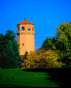 Highland Park Water Tower, designed by Clarence Wigington, St. Paul, Minnesota
