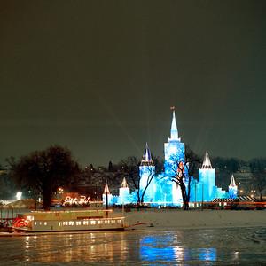 1992 Blue Ice Castle, Harriet Island, St. Paul, Minnesota