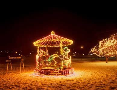 Electric Garden Merry-go-round , St. Paul, Minnesota