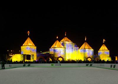 2004 Yellow Ice Castle, St. Pul, Minnesota