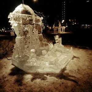 1992 Ice Sculpture, King's Throne, Rice Park, St. Paul, Minnesota