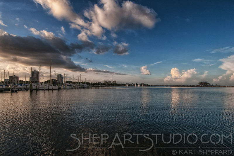 St. Petersburg Pier, image from Albert Whitted Park.