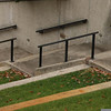 11/2007:  Stairs at ampitheatre, Indianapolis Museum of Art, Indianapolis, IN