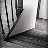 6/2011:  Stairway.  This B&W began by using Scott Kelby's Gradient Map Adjustment layer technique.  Then a new consolidated layer was created and the Equalize filter applied.