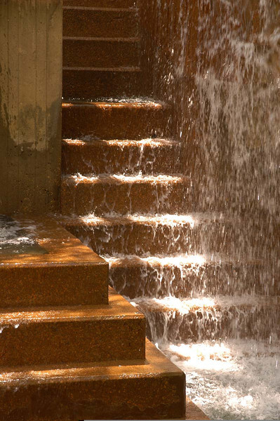 5/2005:  Stairs in water, Minneapolis, MN