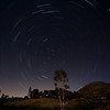 My first attempt; 2 min (Bulb), 2 second  intervals; 30 Frames and 1 Dark Frame. Stacked together using StarTrails version 2.0. Camera: 5DIII with 17-40mm f/4.0L. Aperture: f:4.5, ISO 100