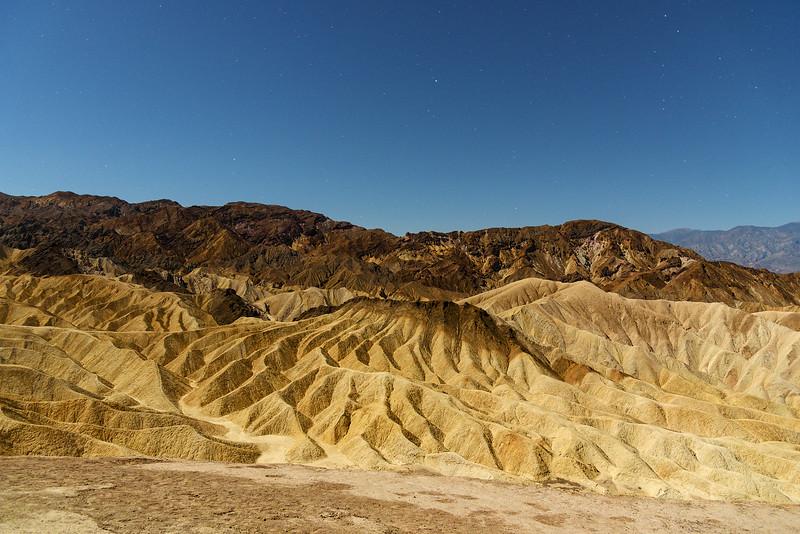 Zabriskie Point, Death Valley 2016