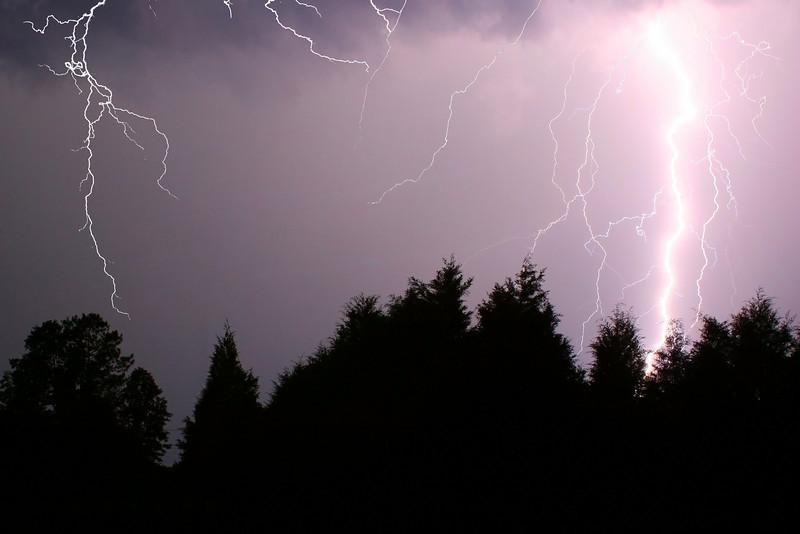 Lightning over Oak Grove TN