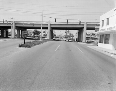 View of San Marco Blvd in Jacksonville in 1959.