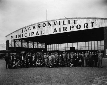 The Engineers club at Jacksonville's Imeson Field in 1941.  Imeson Field was purchased in 1970 by Webb International, Inc. and then converted into a 1,500-acre business park, now known as Imeson International Industrial Park.