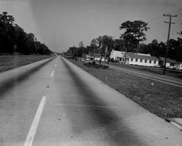 Looking north along Roosevelt Boulevard in 1961.