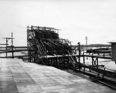 Rutile Mine equipment and machinery in 1948.