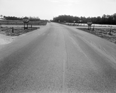 Expressway and Atlantic cutoff in 1956.