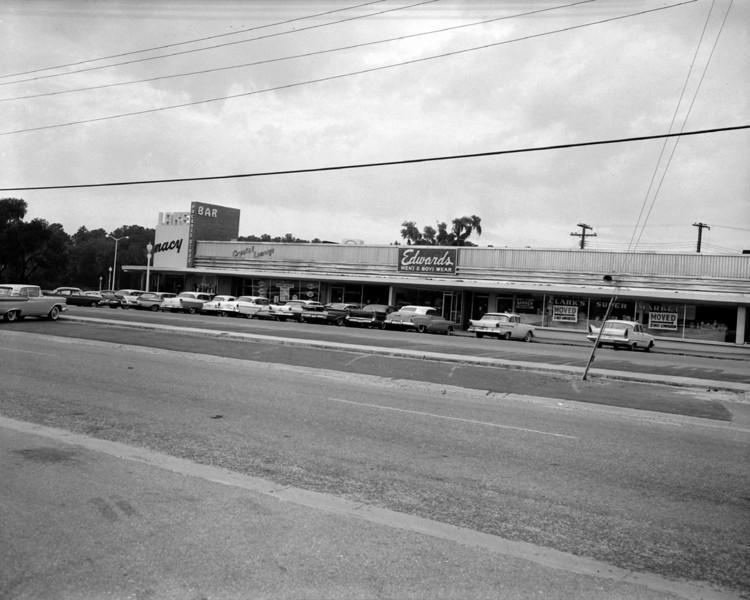 Lakewood Shopping Center in 1959.