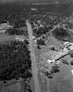 Aerial view overlooking the San Jose Campus at the Bolles School in 1953.