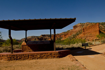 Shelter, South Prong Parking Area, Caprock Canyon, Quitaque, Texas