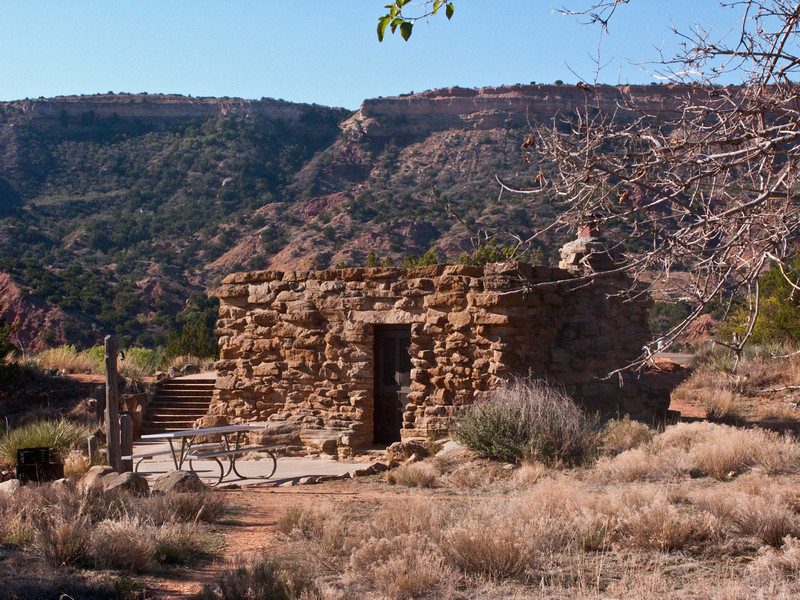 Superieur Stone Cabins, CCC Built, Cow Camp,Palo Duro Canyon, Texas
