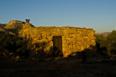 Stone Cabins, CCC built, Cow Camp,Palo Duro Canyon, Texas