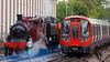 London Underground 150th anniversary celebrations at Amersham.