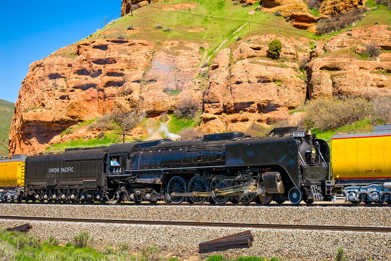 "Union Pacific Steam Locomotive 844 ""Living Ledgend"""