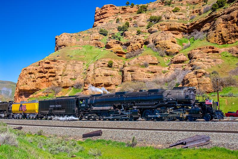 "Union Pacific Steam Locomotive 4014 ""Big Boy"""