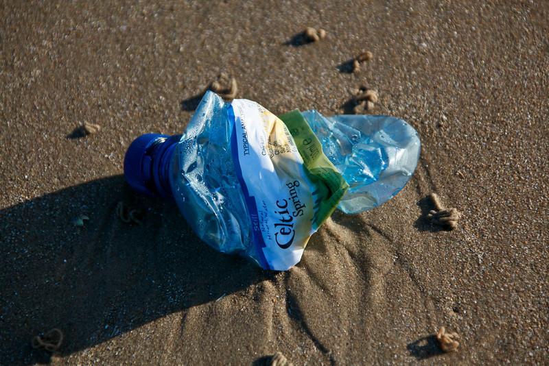 Litter on Beach