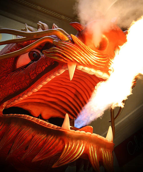 CNY 2012, Fire-Breathing Dragon