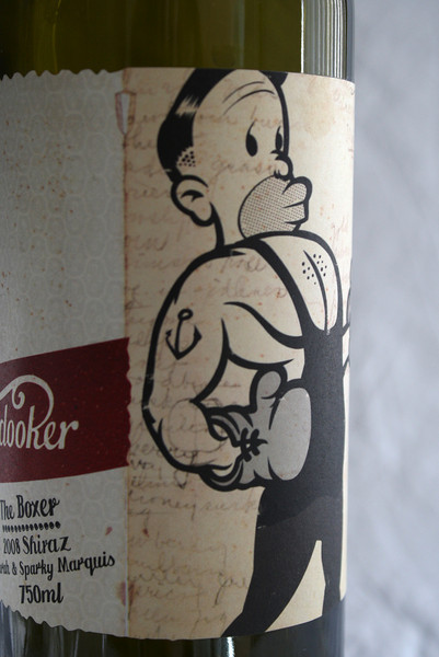 Boxer Wine Cover