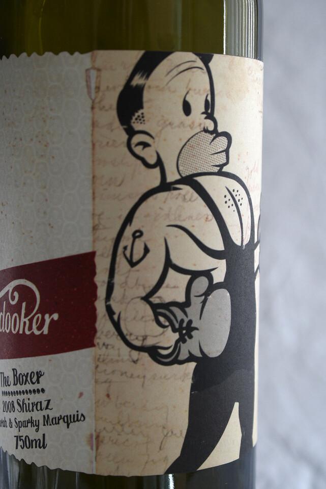 Boxer Wine Cover