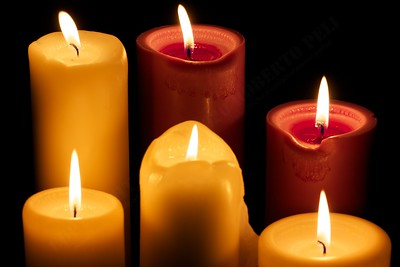 Wonky candles