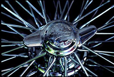 Spokes of a wheel