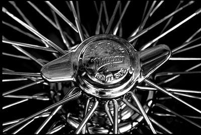 Spokes of a wheel (Black & White)