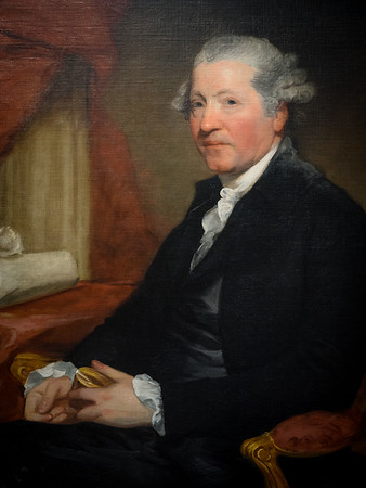 Joshua Reynolds by Gilbert Stuart