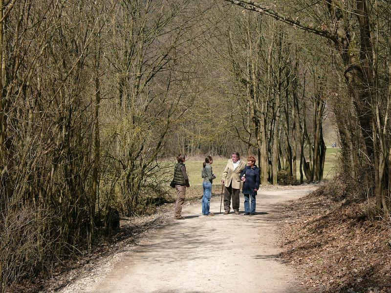 Besuch in Kühschlag-Schönhofen mit Frühlingsspaziergang an der Laaber, Theresa