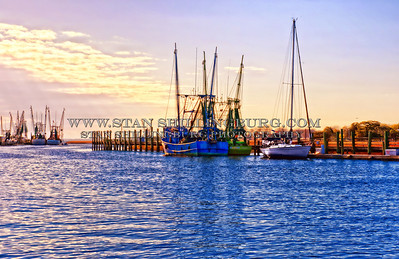 Shrimp Boats of the Carolinas