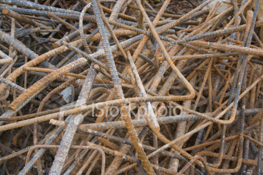 <a href=http://www.istockphoto.com/file_closeup/object/5687573.php?id=5687573&refnum=jwilkinson target=istock>Rebar Remainders</a><br>a chaotic pile of bent and rusty scrap rebar (steel reinforcement bar) at a construction site<br><br>See also:<br><a href=http://www.istockphoto.com/file_closeup.php?refnum=jwilkinson&id=5687702><img border=0 src=http://www.istockphoto.com/file_thumbview_approve.php?refnum=jwilkinson&size=1&id=5687702></a> <br>