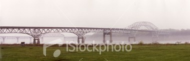 "<a href=""http://www.istockphoto.com/file_closeup/object/31800.php?id=31800&refnum=jwilkinson"" target=""istock"">Bridges in fog 2</a><br>Scenic shot of iron bridges in fog at Havre de Grace, Md, USA.  Wide, panoramic view format.  <br><br>See also the non-panoramic version:<br><a href=http://www.istockphoto.com/file_closeup.php?id=31798><img border=0 src='http://www.istockphoto.com/file_thumbview_approve.php?size=1&id=31798'></a><br><br>Please drop me a note if/where you use this photo."