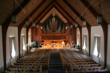 """<a href=""""http://www.istockphoto.com/file_closeup/object/614665.php?id=614665&refnum=jwilkinson"""" target=""""istock"""">Church Sanctuary 1</a><br>peaceful view of the interior of a church, the sanctuary.  calm afternoon lighting, no people, presbyterian church.  <br><br>please use respectfully.   please let me know if/how you use it - for my curiosity."""