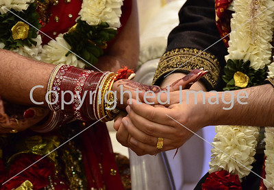Indian wedding - Union of Hands