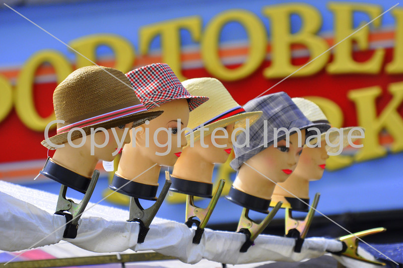 Hats at Portobello Road