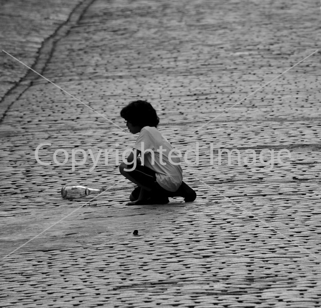 Playing in the steet
