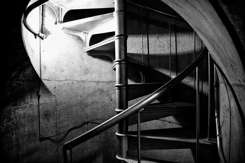 Spiral Staircase in Concrete