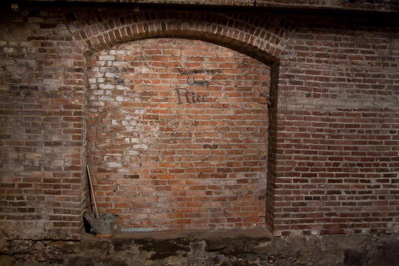 Brick Wall & Arch
