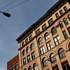 Building & Lamp Post, Pioneer Square, Seattle, WA