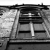 Old Building, Pioneer Square, Seattle, Washington State, Black & White