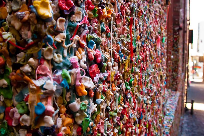 Gum Wall 2, Post Alley, Seattle, WA