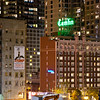 City at Night, Camlin Hotel, Worldmark, Seattle, WA