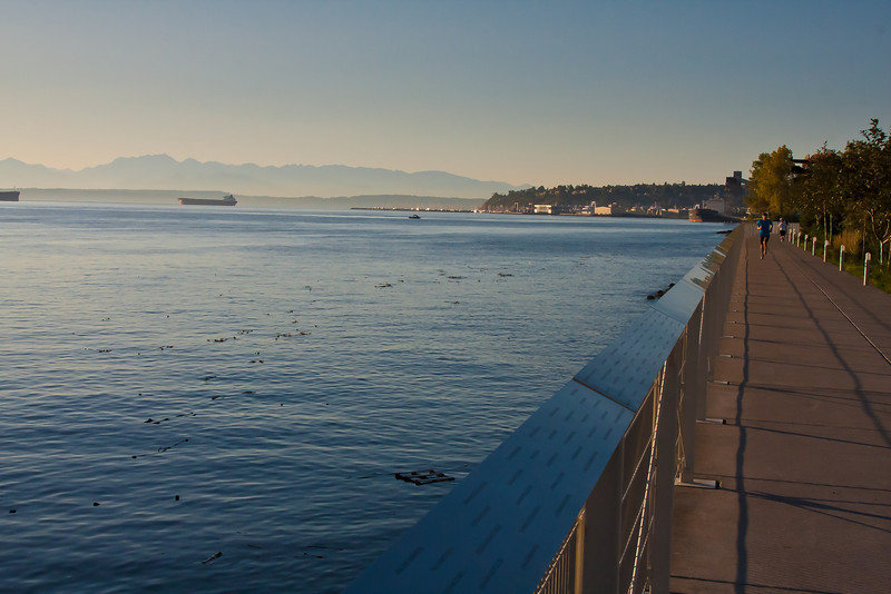 Seattle Waterfront Promenade