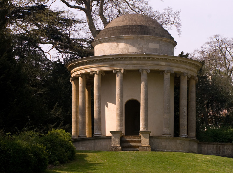 Stowe: the Temple of Ancient Virtue